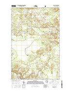 Gheen NW Minnesota Current topographic map, 1:24000 scale, 7.5 X 7.5 Minute, Year 2016 from Minnesota Map Store