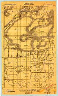 Goos Minnesota Historical topographic map, 1:62500 scale, 15 X 15 Minute, Year 1918