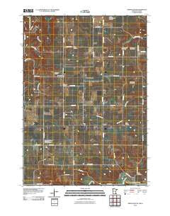 Greenleafton Minnesota Historical topographic map, 1:24000 scale, 7.5 X 7.5 Minute, Year 2010