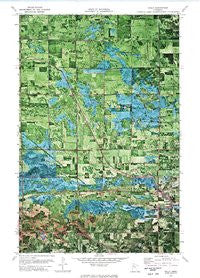 Gully Minnesota Historical topographic map, 1:24000 scale, 7.5 X 7.5 Minute, Year 1972