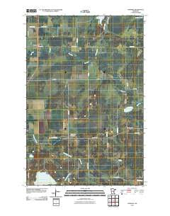 Hassman Minnesota Historical topographic map, 1:24000 scale, 7.5 X 7.5 Minute, Year 2010