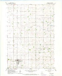 Hayfield Minnesota Historical topographic map, 1:24000 scale, 7.5 X 7.5 Minute, Year 1966