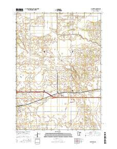 Buy topo map Hayward MN, 2016 – YellowMaps Map Store