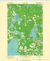 Height Of Land Lake Minnesota Historical topographic map, 1:24000 scale, 7.5 X 7.5 Minute, Year 1959