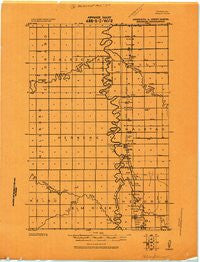 Hendrum Minnesota Historical topographic map, 1:62500 scale, 15 X 15 Minute, Year 1918