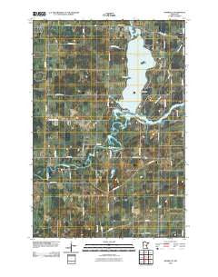 Henriette Minnesota Historical topographic map, 1:24000 scale, 7.5 X 7.5 Minute, Year 2010