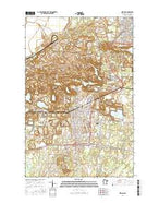Hibbing Minnesota Current topographic map, 1:24000 scale, 7.5 X 7.5 Minute, Year 2016 from Minnesota Map Store