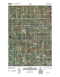 Hollandale Minnesota Historical topographic map, 1:24000 scale, 7.5 X 7.5 Minute, Year 2010