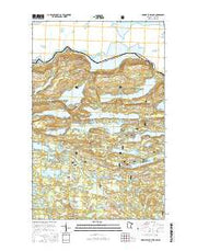 Hungry Jack Lake Minnesota Current topographic map, 1:24000 scale, 7.5 X 7.5 Minute, Year 2016 from Minnesota Maps Store