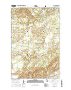 Isaac Lake Minnesota Current topographic map, 1:24000 scale, 7.5 X 7.5 Minute, Year 2016 from Minnesota Map Store