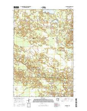 Jacobson Minnesota Current topographic map, 1:24000 scale, 7.5 X 7.5 Minute, Year 2016 from Minnesota Maps Store