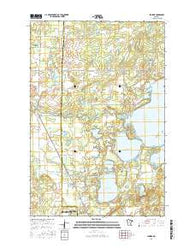 Jenkins Minnesota Current topographic map, 1:24000 scale, 7.5 X 7.5 Minute, Year 2016