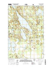 Jessie Lake Minnesota Current topographic map, 1:24000 scale, 7.5 X 7.5 Minute, Year 2016 from Minnesota Maps Store