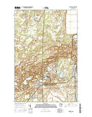 Keewatin Minnesota Current topographic map, 1:24000 scale, 7.5 X 7.5 Minute, Year 2016 from Minnesota Maps Store