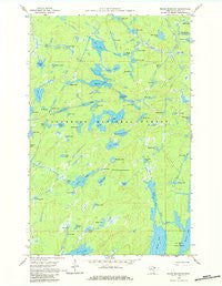 Kelso Mountain Minnesota Historical topographic map, 1:24000 scale, 7.5 X 7.5 Minute, Year 1960