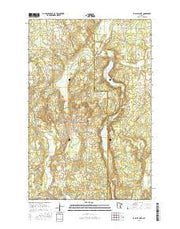 La Salle Lake Minnesota Current topographic map, 1:24000 scale, 7.5 X 7.5 Minute, Year 2016 from Minnesota Maps Store
