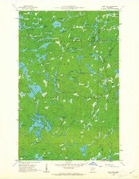 Lake Polly Minnesota Historical topographic map, 1:24000 scale, 7.5 X 7.5 Minute, Year 1960