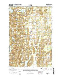 Lake Beauty Minnesota Current topographic map, 1:24000 scale, 7.5 X 7.5 Minute, Year 2016