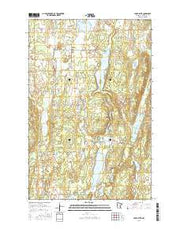 Lake Hattie Minnesota Current topographic map, 1:24000 scale, 7.5 X 7.5 Minute, Year 2016 from Minnesota Maps Store