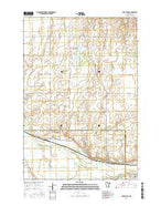 Lake Henry Minnesota Current topographic map, 1:24000 scale, 7.5 X 7.5 Minute, Year 2016 from Minnesota Map Store