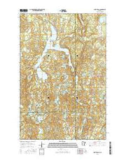Lake Itasca Minnesota Current topographic map, 1:24000 scale, 7.5 X 7.5 Minute, Year 2016 from Minnesota Maps Store