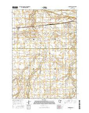 Lamberton Minnesota Current topographic map, 1:24000 scale, 7.5 X 7.5 Minute, Year 2016 from Minnesota Maps Store