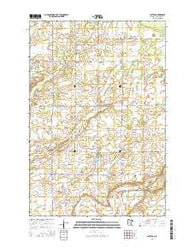Lastrup Minnesota Current topographic map, 1:24000 scale, 7.5 X 7.5 Minute, Year 2016