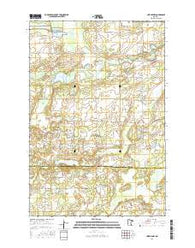 Lastrup NW Minnesota Current topographic map, 1:24000 scale, 7.5 X 7.5 Minute, Year 2016