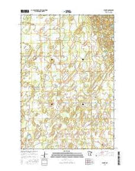 Leader Minnesota Current topographic map, 1:24000 scale, 7.5 X 7.5 Minute, Year 2016