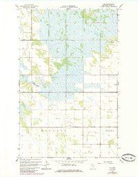 Leo Minnesota Historical topographic map, 1:24000 scale, 7.5 X 7.5 Minute, Year 1966