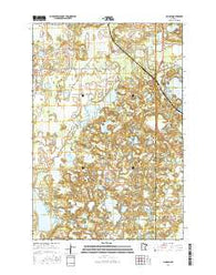 Lincoln Minnesota Current topographic map, 1:24000 scale, 7.5 X 7.5 Minute, Year 2016