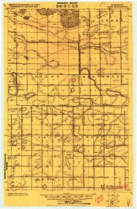 Liner Minnesota Historical topographic map, 1:62500 scale, 15 X 15 Minute, Year 1919
