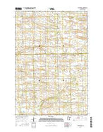 Little Rock Minnesota Current topographic map, 1:24000 scale, 7.5 X 7.5 Minute, Year 2016 from Minnesota Map Store