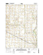 London Minnesota Current topographic map, 1:24000 scale, 7.5 X 7.5 Minute, Year 2016 from Minnesota Map Store