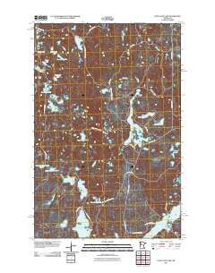 Long Lost Lake Minnesota Historical topographic map, 1:24000 scale, 7.5 X 7.5 Minute, Year 2011
