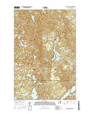 Long Lost Lake Minnesota Current topographic map, 1:24000 scale, 7.5 X 7.5 Minute, Year 2016 from Minnesota Maps Store
