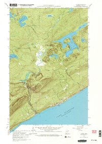 Lutsen Minnesota Historical topographic map, 1:24000 scale, 7.5 X 7.5 Minute, Year 1959