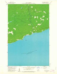 Marr Island Minnesota Historical topographic map, 1:24000 scale, 7.5 X 7.5 Minute, Year 1960