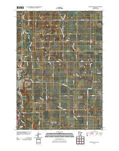Medford East Minnesota Historical topographic map, 1:24000 scale, 7.5 X 7.5 Minute, Year 2010