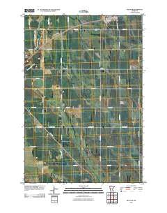 Milan NW Minnesota Historical topographic map, 1:24000 scale, 7.5 X 7.5 Minute, Year 2010