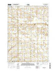 Milroy SE Minnesota Current topographic map, 1:24000 scale, 7.5 X 7.5 Minute, Year 2016 from Minnesota Maps Store