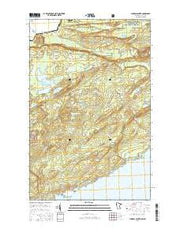 Mineral Center Minnesota Current topographic map, 1:24000 scale, 7.5 X 7.5 Minute, Year 2016 from Minnesota Maps Store