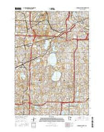 Minneapolis South Minnesota Current topographic map, 1:24000 scale, 7.5 X 7.5 Minute, Year 2016 from Minnesota Map Store