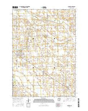 Minneota Minnesota Current topographic map, 1:24000 scale, 7.5 X 7.5 Minute, Year 2016 from Minnesota Maps Store