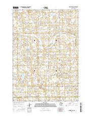 Minneota NW Minnesota Current topographic map, 1:24000 scale, 7.5 X 7.5 Minute, Year 2016 from Minnesota Maps Store