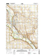 Montevideo Minnesota Current topographic map, 1:24000 scale, 7.5 X 7.5 Minute, Year 2016 from Minnesota Maps Store