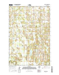 Motley NW Minnesota Current topographic map, 1:24000 scale, 7.5 X 7.5 Minute, Year 2016