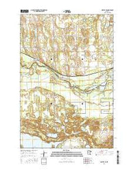 Motley SE Minnesota Current topographic map, 1:24000 scale, 7.5 X 7.5 Minute, Year 2016