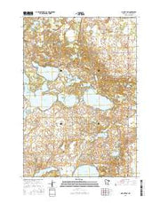 Mount Tom Minnesota Current topographic map, 1:24000 scale, 7.5 X 7.5 Minute, Year 2016 from Minnesota Maps Store