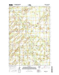 Nimrod SW Minnesota Current topographic map, 1:24000 scale, 7.5 X 7.5 Minute, Year 2016